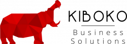 The logo of Kiboko, a hippothamus
