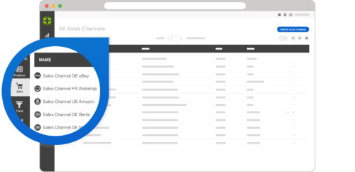 A screenshot of order management capabilities in Marello