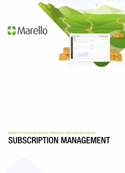 Cover of the subscription Management whitepaper