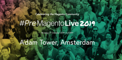 People of the magento community waving at premagento live