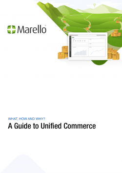 The cover of the Unified commerce Whitepaper