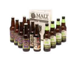 bottles of beer, part of a subscription at monthlyclubs.com