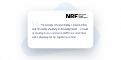 A quote by the National Retail Federation about the Convenience Economy