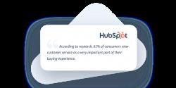 Hubspot about Customer Service